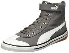6e401bc14f38 Puma Unisex 917 Fun Mid Idp Quiet Shade-Black Sneakers - 4 UK India (37 EU)