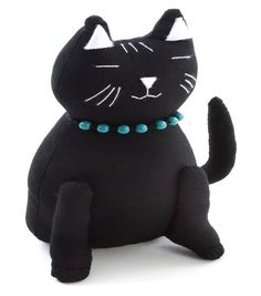 Pincushion-Cat Black