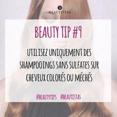 Petit conseil pour toutes les beautistas aux cheveux colorés #beautytips #beautistas #hair #instahair #haircolor