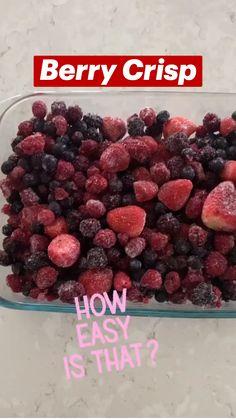 Healthy Dessert Recipes, Fruit Recipes, Desert Recipes, Delicious Desserts, Cooking Recipes, Yummy Food, Easy Fruit Desserts, Fruit Fruit, Fruit Salads