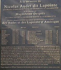 Cliquez pour agrandir l'image Bulletins, Family Genealogy, Ancestry, Family History, Great Quotes, Periodic Table, Early French, Family Names, Markers