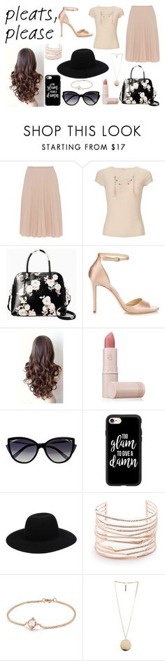 """Style #273"" by paola200 ❤ liked on Polyvore featuring Piazza Sempione, Miss Selfridge, Kate Spade, Jimmy Choo, Lipstick Queen, La Perla, Casetify, Off-White, Alexis Bittar and David Yurman"