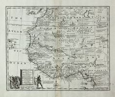Emanuel Bowen: A New & Accurate Map of Negroland and the Adjacent Countries, also Upper Guinea ...