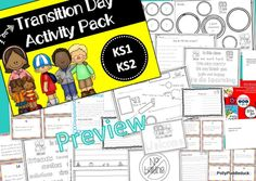 Transition Day.... perfect for those newcomers!