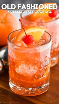This Old Fashioned Cocktail recipe is a classic you must try. A Wisconsin staple, an Old Fashioned Recipe is essential for any at home bar tender. Source by old fashioned Best Old Fashioned Recipe, Bourbon Old Fashioned, Old Fashioned Drink, Old Fashioned Cocktail, Martini Recipes, Sangria Recipes, Cocktail Recipes, Cocktail Menu, Drink Recipes