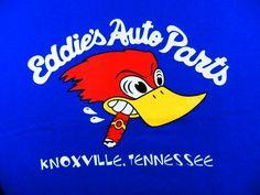 Eddies Auto Parts Blue Size L