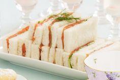 Smoked Salmon And Cucumber Finger Sandwiches Recipe - Taste.com.au