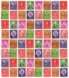 Postage Stamp Sheets