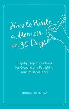 Great book on how to write a memoir in 30 days