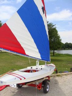 Sunfish sail boat this is the boat I grew up sailing!!  We still have it