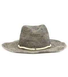 mytheresa.com - Embellished raffia hat - Monday - Current week - New Arrivals - Luxury Fashion for Women / Designer clothing, shoes, bags