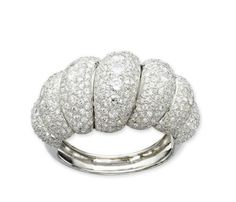 A DIAMOND 'TORSADE' BANGLE, BY BOIVIN