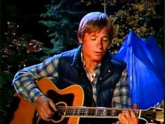 John Denver singing Poems Prayers and Promises with the Muppets.   If you are one who likes the Muppets then you will like this!!