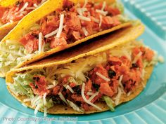 Alaska Salmon Tacos - Trident Seafoods Royal Red® Red Salmon is combined with a fiesta of spices in this Mexican-style lunch or dinner. High in protein and high in omega-3s, each bite is loaded with huge good-for-you flavor, and simple prep makes this recipe a snap to whip up.