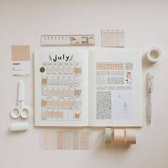 Pin on Organisation/planner/bullet journal Bullet Journal Washi Tape, Bullet Journal Notebook, Bullet Journal Themes, Bullet Journal Inspo, Bellet Journal, Bullet Journal Aesthetic, Journal Layout, Journal Inspiration, Journal Ideas
