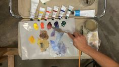 Color Theory In Painting: Analogous, Triadic and Complementary Colors Schemes