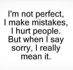 50 I'm Sorry Quotes | Sorry Quotes For Him And Her - Part 12
