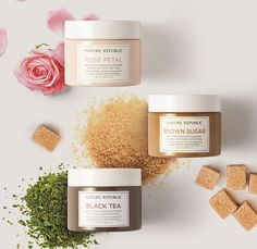 Nature Republic Real Fresh Wash off Mask  #asianbeauty #kbeauty #rose #koreanbeauty #roseoil #rosepetals #rose #facialoil #beauty #cosmetics #naturerepublic #realfresh #mask #washoffmask #blacktea #brownsugar #scrub #skincare #asianskincare #asiancosmetics #dryskin #sensitiveskin  #acne #pores #serum #essence #cosmetics