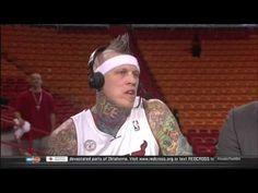 May 22, 2013 - TNT - Chris Andersen (Birdman) Interview (Heat Vs. Pacers Game 1)(Inside the NBA) - http://maxblog.com/8404/may-22-2013-tnt-chris-andersen-birdman-interview-heat-vs-pacers-game-1inside-the-nba/