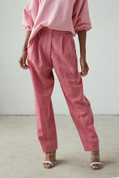 Pin by Joy Cho / Oh Joy! on Outfitted in 2020 Pink Fashion, Fashion Outfits, Womens Fashion, Power Dressing, Trendy Outfits, Cute Outfits, Looks Style, My Style, Look Rose