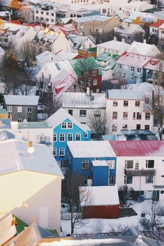 Colourful Rooftops | Reykjavik | Iceland | Eric BRB-SYD