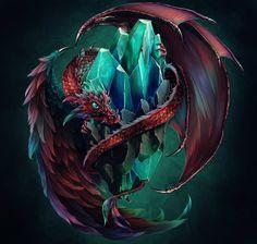awesomedigitalart: Dragon Keeper by *Tira-Owl   Awesome Design Inspiration