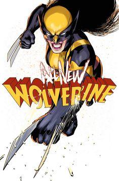 """badass–babes: """"""""Wolverine by David Lopez """" """""""