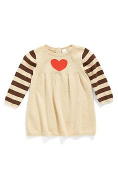 Nordstrom+Baby+Cotton+Sweater+Dress+(Baby+Girls)+available+at+#Nordstrom