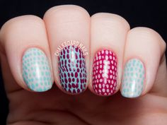 Quick And Simple Scaled Nail Art Video Tutorial Chalkboard with Nail Art Designs Video Tutorials