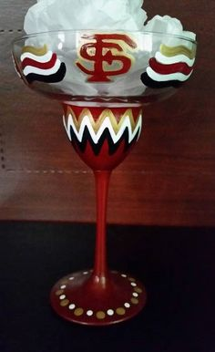 Florida State University hand painted by AudrasSouthernFlair                                                                                                                                                     More