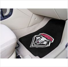 UNIVERSITY OF NEW MEXICO .. Don't leave your school spirit at home...take it on the road with the NCAA carpeted car mats from Fanmats! Protect your vehicle's flooring while showing your team pride with car mats by FANMATS. 100% nylon face with non-skid vinyl backing. Universal fit makes it ideal for cars, trucks, SUVs, and RVs. The officially licensed mat is chromojet printed in true team colors and designed with a large team logo. Made in USA. $26.95