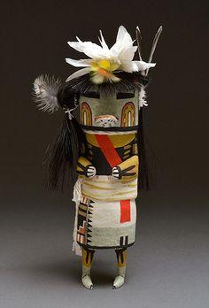 Duck Kachina Doll by Randy Brokeshoulder (Hopi)