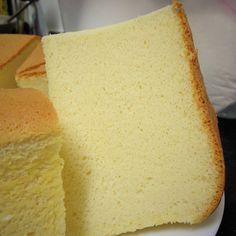 Less Cheese Sponge Cake