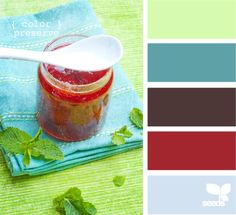 swap the red for a golden bold yellow tone------color preserve - design seeds // #78 Lime Light, #28 Blue Isle, #34 Down to Earth, #87 Ruby Slippers, #65 Peritwinkle