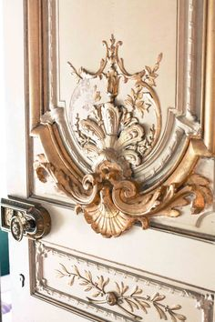 A door to the Napoleon Apartments in the Louvre Believe it or not, we still make custom doors like this. Leodowellinteriors