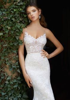 Blu by Morilee 5704 Peyton Illusion Bodice Lace Fit and Flare Wedding Dress – Wedding Gown Western Wedding Dresses, Elegant Wedding Gowns, Luxury Wedding Dress, Wedding Dresses Photos, Glamorous Wedding, Bridal Wedding Dresses, White Wedding Dresses, Lace Wedding, Wedding Cakes