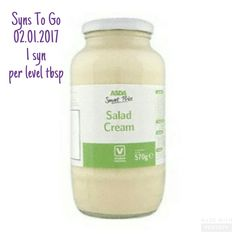 How many syns in ASDA Smart Price salad cream? Search Syns To Go on Facebook. Asda Slimming World, Slimming World Recipes, Salad Cream, Free Food, Treats, Frugal Living, Facebook, Search, Tips