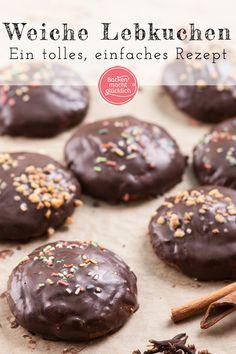 Simple gingerbread recipe Baking makes you happy - My CMS Easy Gingerbread Recipe, Gingerbread Cookies, Baking Recipes, Cookie Recipes, German Cookies, German Baking, Ginger Bread Cookies Recipe, Holiday Cakes, Pumpkin Dessert