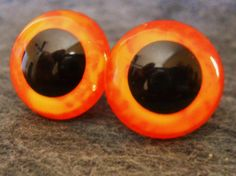 18 mm plastic safety eyes doll supplies by GhoulieDollies on Etsy, $5.00