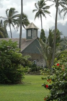 Church on the Road to Hanna in Maui