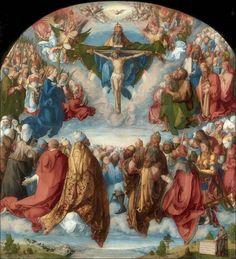 Albrecht Dürer · Adorazione della Trinità con Autoritratto · 1511 · Kunsthistorisches Museum · Wien