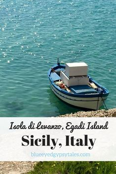 An Egadi Island off of Sicily's coast, Levanzo is a small, quaint place of beauty, ideal for a day trip. Sicily Travel, Italy Travel Tips, Slow Travel, Things To Do In Italy, Sicily Italy, Travel Organization, Ancient Ruins, Sardinia, Countries Of The World