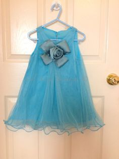 Sale Blue sleeveless flower girl lace dress for toddler infants 2 3 4 5 6 7 years old birthday gift photo prop holiday on Etsy, £18.68