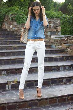 3 formas de montar looks com calça branca