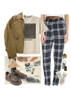 """""""beach house"""" by paper-freckles ❤ liked on Polyvore featuring Lbt-Lbt, INDIE HAIR, Chantal Thomass, Timberland, Dr. Martens, Trasparenze and AllSaints"""