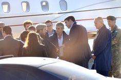 Breve visita y promesas de las autoridades de Nación en su visita a La Pampa