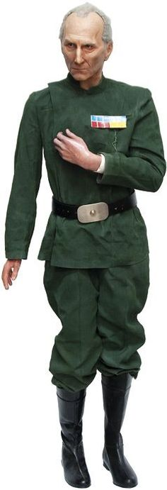 Star Wars: Grand Moff Tarkin, life size model of the first… - Movie & TV - Star Wars - Toys & Models - Carter's Price Guide to Antiques and Collectables