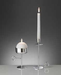 'Rational x Intuitive Thought' Collection Candlesticks  :  Yabu Pushelberg for Pampaloni  |  Wallpaper* Magazine