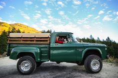 chillypepperhothothot: Out Cruising With The Girls by Jillian Old Dodge Trucks, Dodge Pickup, Dodge Cummins, Pickup Trucks, Lifted Trucks, Antique Trucks, Vintage Trucks, Cool Trucks, Big Trucks