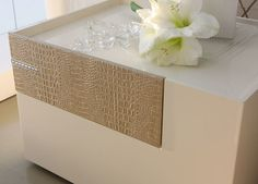 Diamond Ivory Right Nightstand modern-nightstands-and-bedside-tables